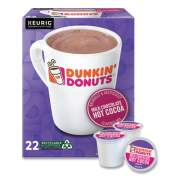 Dunkin Donuts Milk Chocolate Hot Cocoa K-Cup Pods, 22/Box (1261)