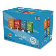 SunChips Variety Mix, Assorted Flavors, 1.5 oz Bags, 30 Bags/Box (49932)