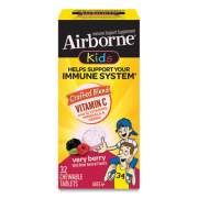 Airborne Kids Immune Support Chewable Tablets, Very Berry, 32 Tablets per Box (99544)