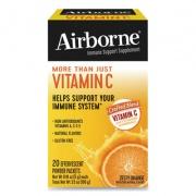 Airborne Immune Support Effervescent Powder On-The-Go Packs, Orange, 20 Count (90060)