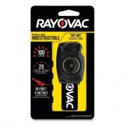 Rayovac Virtually Indestructible LED Headlight, 3 AAA Batteries (Included), 30 m Projection, Black (DIYHL3AAABTA)