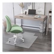 deflecto Antimicrobial Chair Mat, Rectangular, 48 x 36, Clear (CM2E112AM)