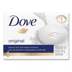Dove White Beauty Bar, Light Scent, 2.6 oz, 36/Carton (61073CT)