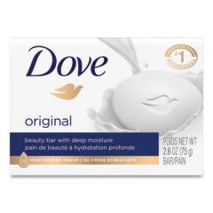 Dove White Beauty Bar, Light Scent, 2.6 oz (61073EA)