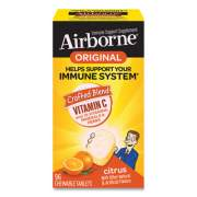 Airborne Immune Support Chewable Tablet, Citrus, 96 Count (96297)