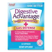 Digestive Advantage Fast Acting Enzyme plus Daily Probiotic Capsule, 32 Count (97022)