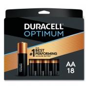 Duracell Optimum Alkaline AA Batteries, 18/Pack (OPT1500B18PR)
