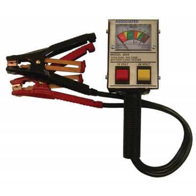 Associated Equipment 12/24v Battery Tester Analog (6024)