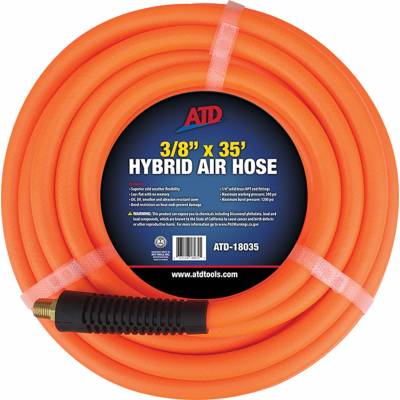 ATD Tools 3/8in X 35ft Hybrid Air Hose (18035)