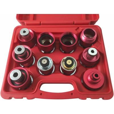 CTA Manufacturing Corporation 10pc Rad Press Adapter Kit-usa (7057)