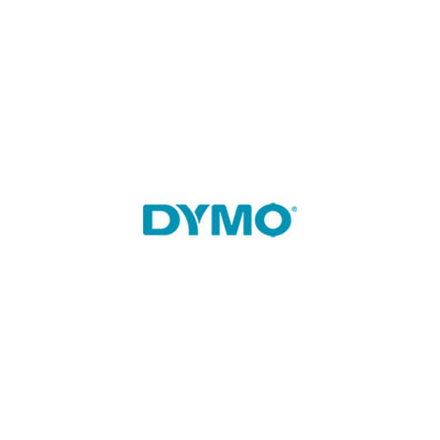 DYMO 24 Mm All-purpose Vinyl, Red On White (1868758)