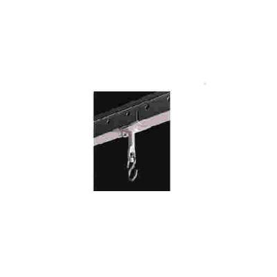 DA-Lite Screen Company T-bar Clip,pair White (78445)