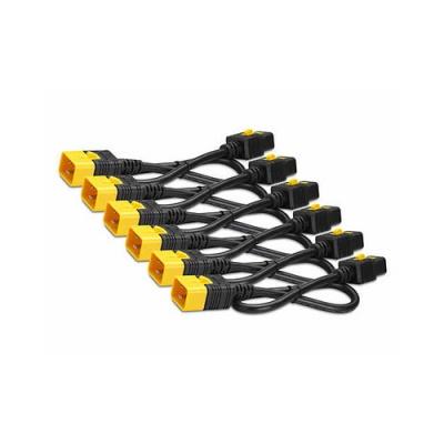 APC Power Cord Kit (6 Ea),locking,c19 To C20 (AP8716SX593)