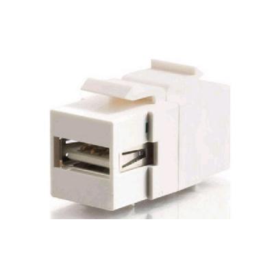 C2G Usb 2.0 Keystone A-b F/f - White (28751)