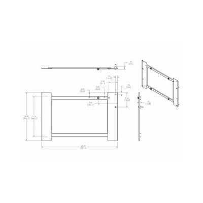 Chief Manufacturing Interface Bracket /p Series Mounts (PSB2643)