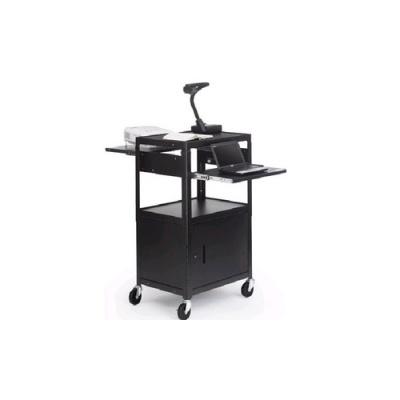 Bretford Adjustable Av Cabinet Cart (CA2642DNSE)