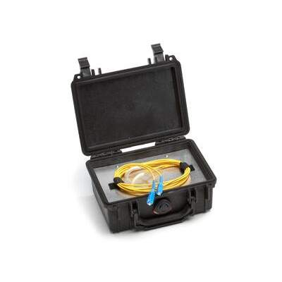 Black Box Fiber Optic Launch Box Os2 Sc 500m (FOLBS-SC-500)