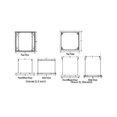 Draper Ceiling Closure Panel (300291)