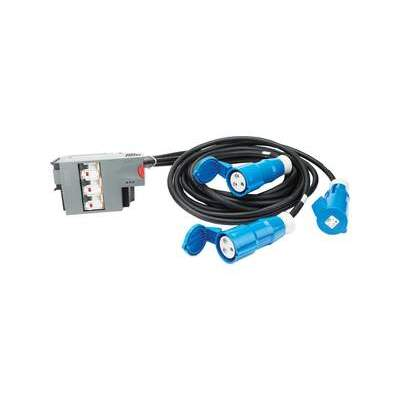 APC Pwr Dist Mod 3x1 Pole 3 Wire Rcd (PDM2316IEC-3P30R-3)