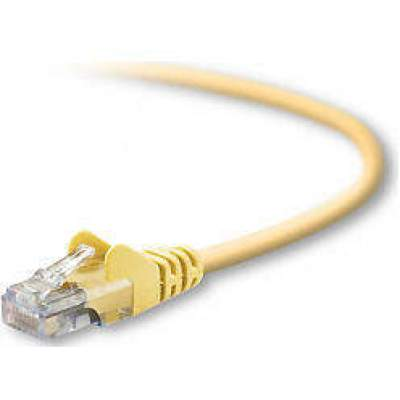 Belkin Components Cat5e Snagless Patch Cbl Rj45m/rj45m (A3L791-02-YLW-S)