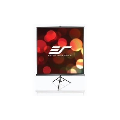 Elite Screens Tripod Portable Screen 85 In 1:1 (T85UWS1)
