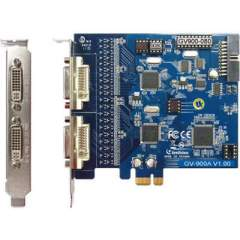 Geovision Gv900- 8 Channel Dvi Type Pci Card (55-G900A-080)