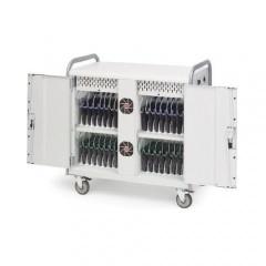 Bretford 32 Unit Network Managed Laptop Cart (MDMLAP32NR-CTAL)