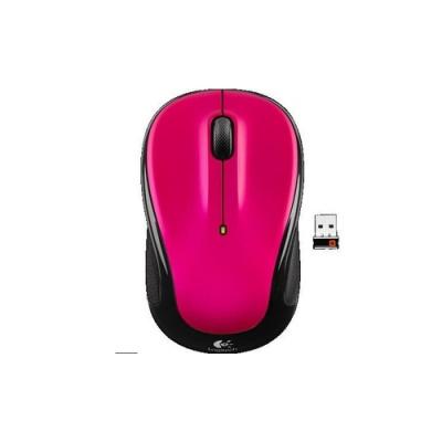 Logitech Wireless Mouse M325 - Brilliant Rose (910-003121)