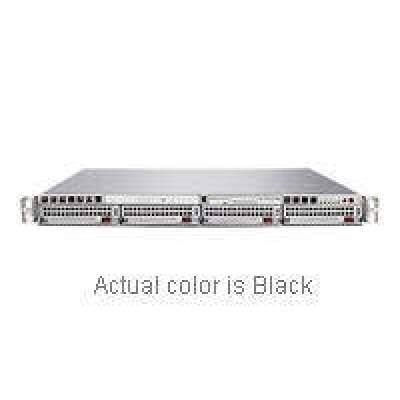 Supermicro Computer Black,1u,dual, Socket F,ddr2,4sata,650w (AS-1021M-T2RB)