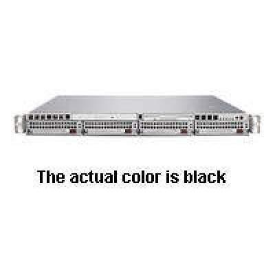 Supermicro Computer Black,1u,socket F,dual,64gb Ddr2,650w (AS-1021M-UR+B)