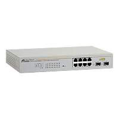 Allied Telesis 8portgigwebsmartswitchwith2sfp (AT-GS950/8-10)