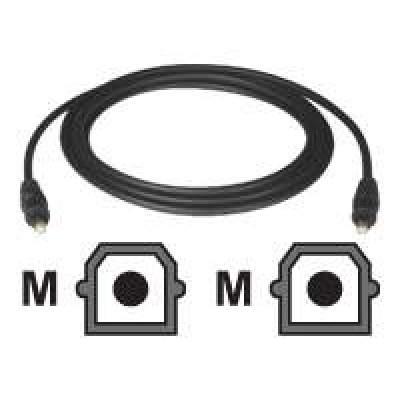 A102-01M 1M 3-ft. ,BLACK,1 meter Tripp Lite Toslink Digital Optical SPDIF Audio Cable
