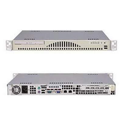 Supermicro Computer Black,mini-1u For,8gb,dual-port Broadcom (AS-1011S-MR2B)