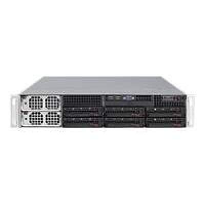 Supermicro Computer Black,2u,socket F,128gb Ddr2,1200w (AS-2041M-32R+B)