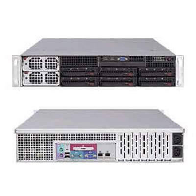 Supermicro Computer Black,2u,socket F,128gb Ddr2,1200w (AS-2041M-T2R+B)