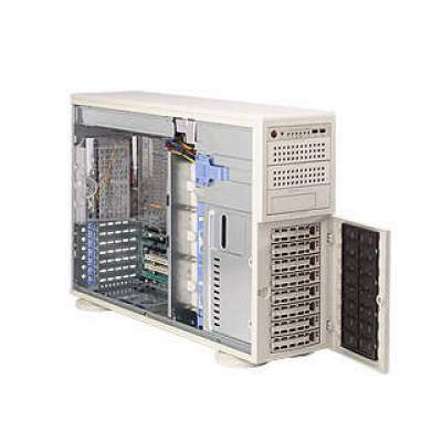 Supermicro Computer Beige,tower,socket F,8x U320 Scsi,800w (AS-4021M-82R+)