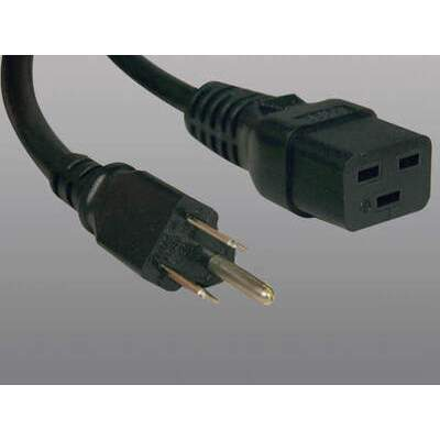 Tripp Lite 10ft Power Cord 15a 14awg C19 To 5-15p (P034-010)