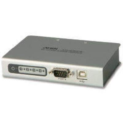 Aten 4-port Usb To Serial Rs-232 Hub (UC2324)
