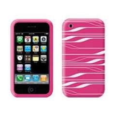 Belkin Components Silicone Sleevefor Iphone 3g Pink/white (F8Z342-PCG)