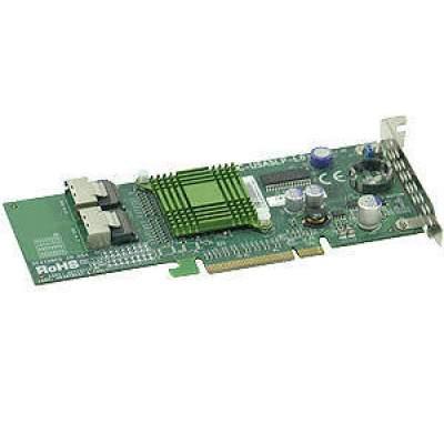 Supermicro Computer Uio 8-port Low-profile Sas Card (AOC-USASLP-L8I)