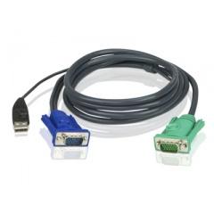 Aten 10 Cable Hd15m/usb A(m)--sphd15m (2L5203U)