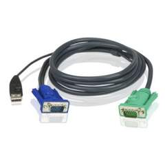Aten 15 Cable Hd15m/usb A(m)--sphd15m (2L5205U)