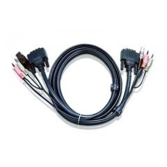 Aten 10 Dvi-i Dual Link Kvm Cable (2L7D03UI)