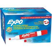 DYMO Expo 2 Chisel Marker Red 12 Pack (80002)