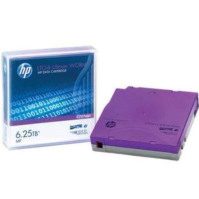 HP Lto-6 Ultrium Mp Worm Data Tape (C7976W)