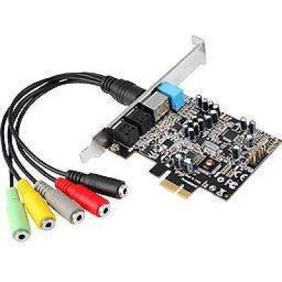 SIIG Dp Soundwave 7.1 Pcie (IC-710211-S1)