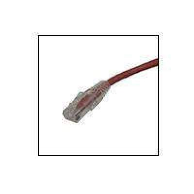 Weltron 5ft Cat6a Booted Patch Cord Red (90-C6AB-5RD)