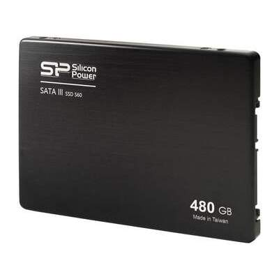 Silicon Power Computer & Communications Sp S60 480gb 7mm 2.5 Sata Iii Ssd (SP480GBSS3S60S25)