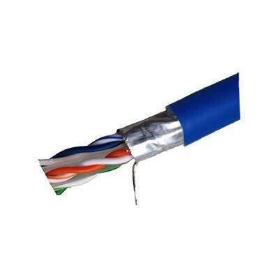 Weltron Cat6 Solid Ftp Cmp Blue 1000 Taa Compli (T2404L6SHP-BL)