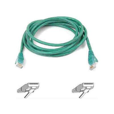 Belkin Components 5ft Cat6 Snagless Patch Cable Green (A3L980-05-GRN-S)